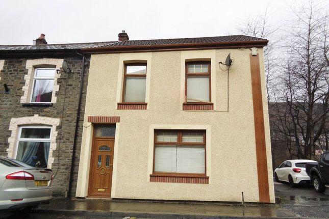 Thumbnail End terrace house for sale in Pontygwaith -, Ferndale