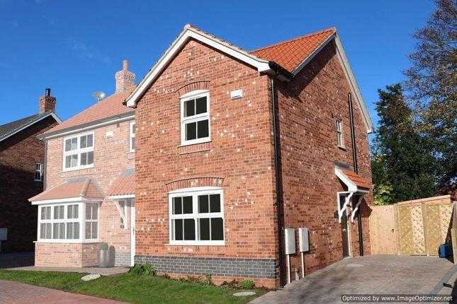 Thumbnail End terrace house for sale in Hopfield, Hibaldstow, Brigg