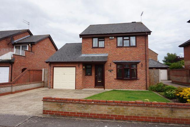 Thumbnail Detached house for sale in Swonnells Walk, Oulton Broad, Lowestoft