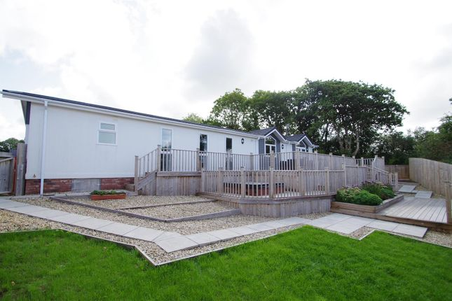 Thumbnail Mobile/park home for sale in Valley View, Halsinger, Braunton