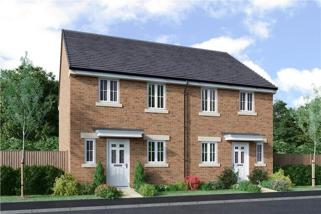 "Thumbnail Semi-detached house for sale in ""Eden"" at Bryning Lane, Warton, Preston"
