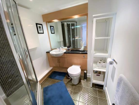 Guest Bathroom of City Wharf, Atlantic Wharf, Cardiff Bay, Cardiff CF10