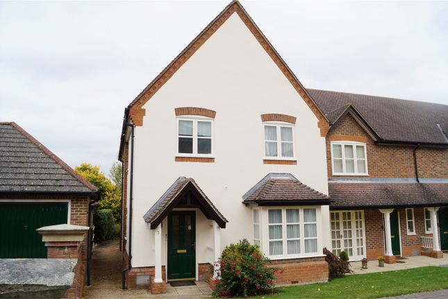 Thumbnail End terrace house to rent in Hill Farm Court, Chinnor, Oxfordshire