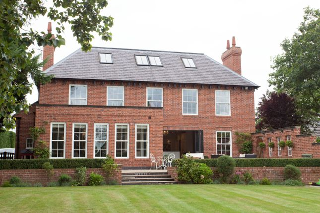 Thumbnail Detached house for sale in Chelford Road, Somerford, Congleton