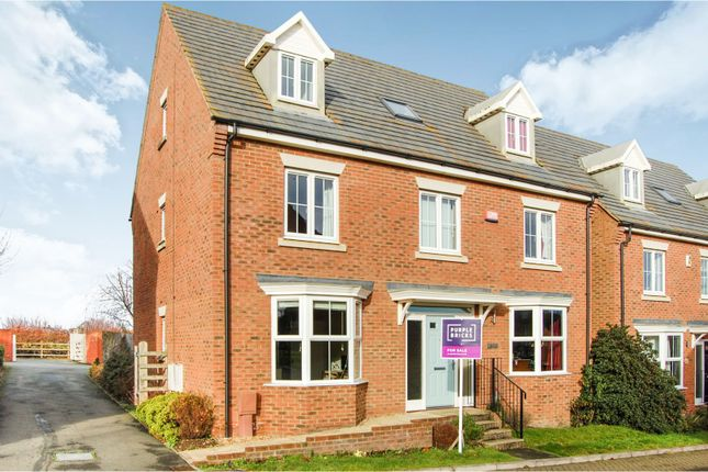 Thumbnail Detached house for sale in Woodpits Lane, Olney