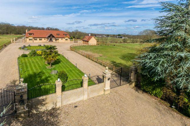 Thumbnail Equestrian property for sale in White Stubbs Lane, Broxbourne, Hertfordshire