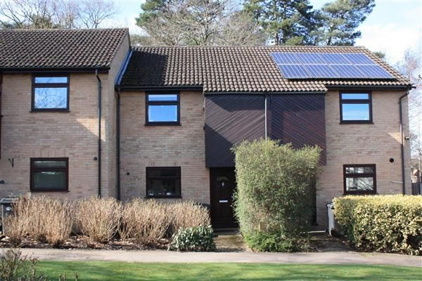 Thumbnail Terraced house to rent in Sutherland Close, Whitehill, Bordon