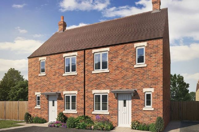 "Thumbnail Semi-detached house for sale in ""The Deene"" at Todenham Road, Moreton-In-Marsh"
