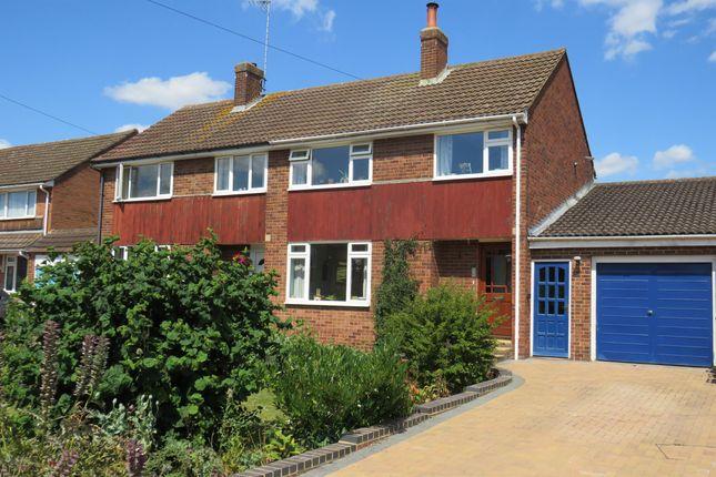 Thumbnail Semi-detached house for sale in Sheepcote Crescent, Heath & Reach, Leighton Buzzard