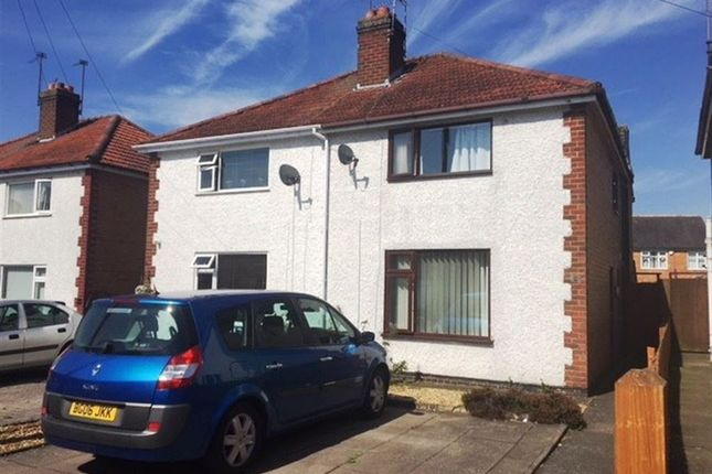 Thumbnail Semi-detached house to rent in Naseby Road, Rugby, Warwickshire