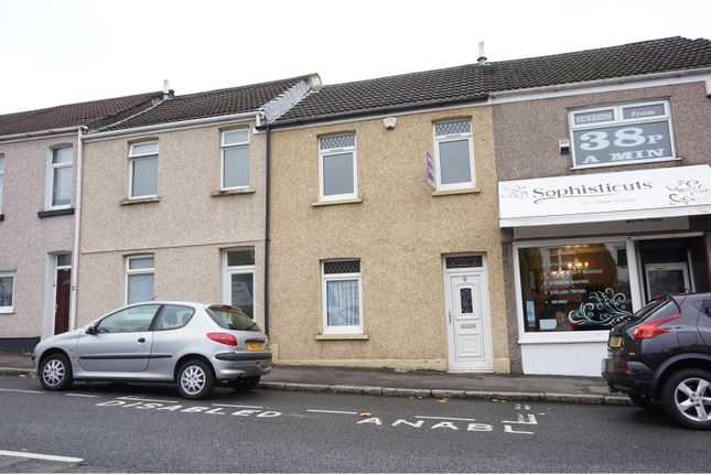 Thumbnail Terraced house for sale in Neath Road, Plasmarl