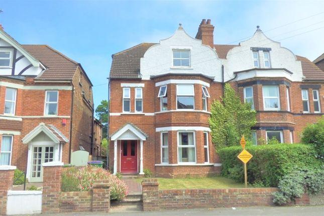 Thumbnail Semi-detached house for sale in Beachborough Road, Folkestone