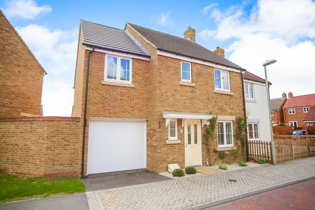Thumbnail Semi-detached house for sale in Downsberry Road, Kingsnorth, Ashford