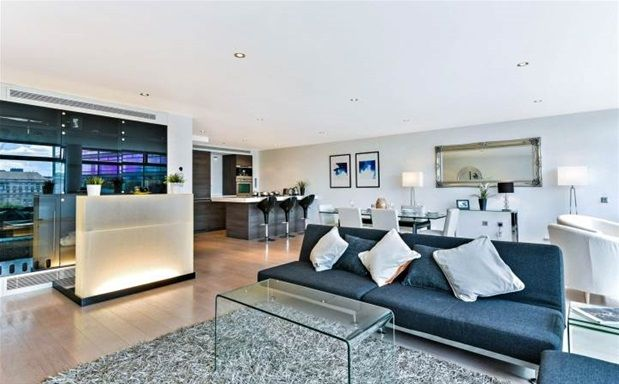 Thumbnail Property to rent in Albert Embankment, London