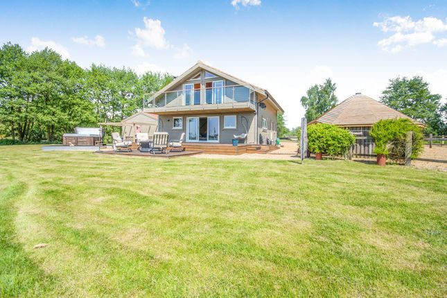 Thumbnail Detached house for sale in Abbey Lakes Close, Pentney, King's Lynn