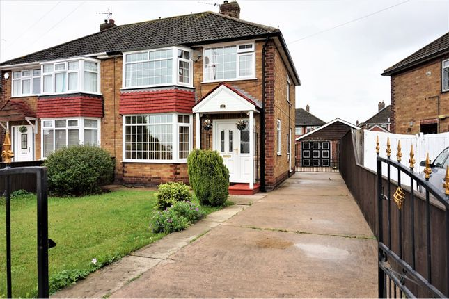 Thumbnail Semi-detached house for sale in Springfield Road, Grimsby