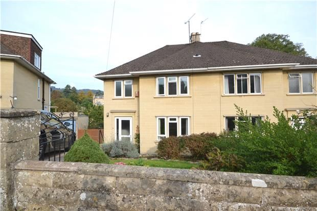 Thumbnail Semi-detached house to rent in Cedric Road, Bath