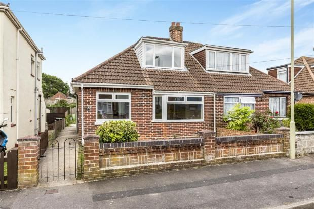 Thumbnail Semi-detached bungalow for sale in Bridgemary Road, Gosport, Hampshire