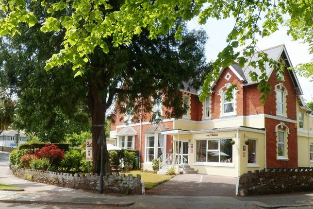 Thumbnail Hotel/guest house for sale in Rathmore Road, Torquay