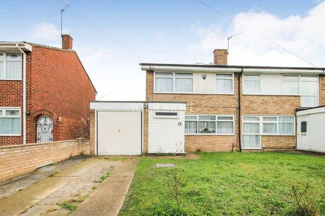 Thumbnail Semi-detached house for sale in Petworth Way, Hornchurch