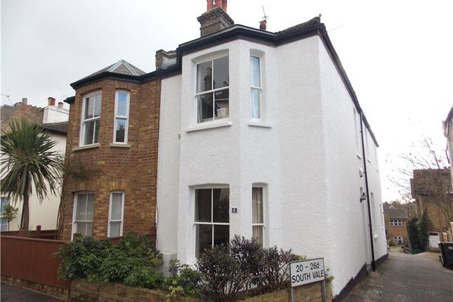 Thumbnail End terrace house to rent in South Vale, London