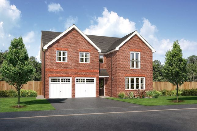"Thumbnail Detached house for sale in ""Malborough"" at Close Lane, Alsager, Stoke-On-Trent"