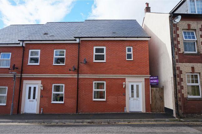 Thumbnail End terrace house for sale in Barrington Street, Tiverton