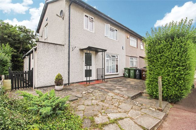 Thumbnail End terrace house to rent in Canberra Close, Dagenham, Essex