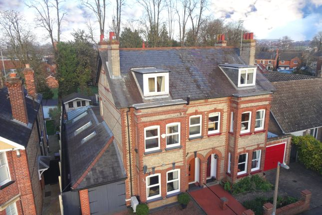 Thumbnail Semi-detached house for sale in Temple Road, Stowmarket