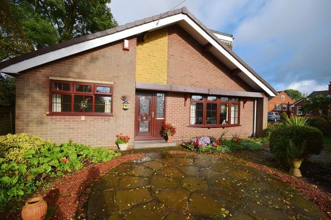 Thumbnail Detached bungalow for sale in Braemar Close, Stoke-On-Trent