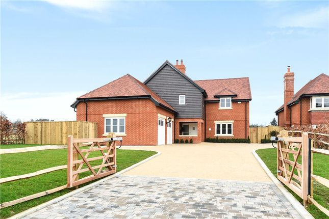 Thumbnail Detached house for sale in Church Lane, Dogmersfield, Hook