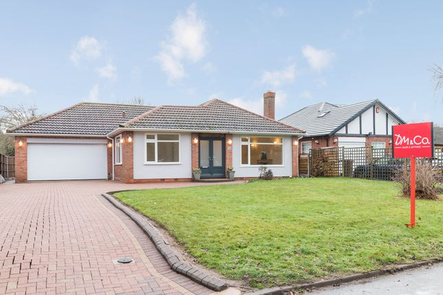 Thumbnail Detached bungalow for sale in Oak Lane, Barston, Solihull