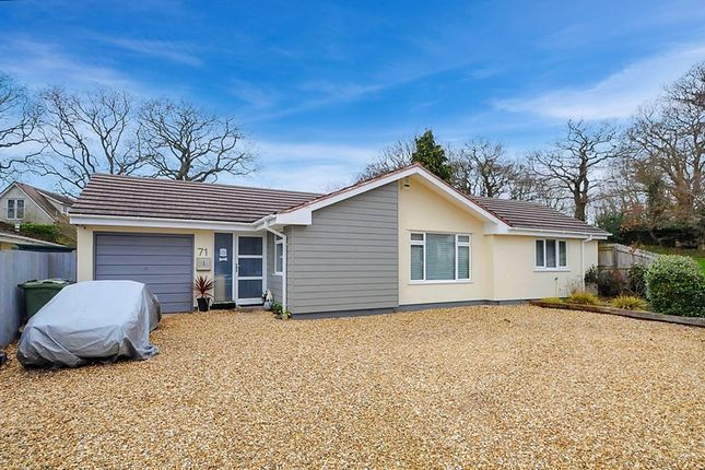 Thumbnail Detached bungalow for sale in South Western Crescent, Whitecliff, Poole