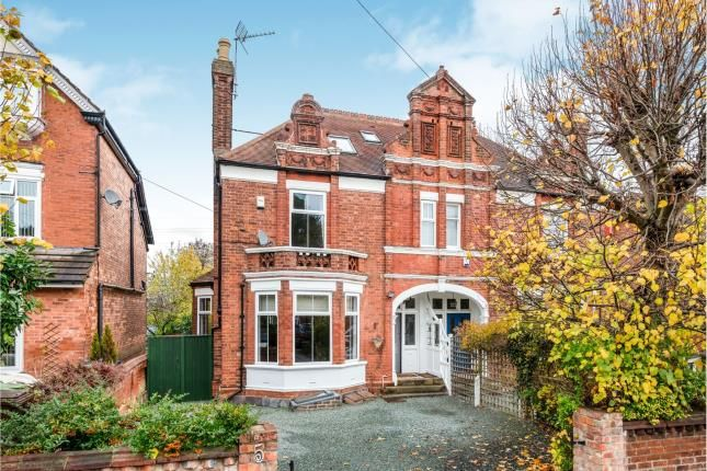 Thumbnail Semi-detached house for sale in Crescent Road, Stafford