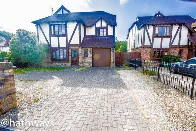 Thumbnail Detached house for sale in Afon Gardens, Ponthir, Newport