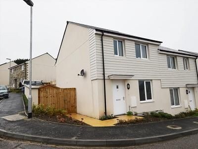 Thumbnail Semi-detached house for sale in Hendrawna Meadows, Perranporth