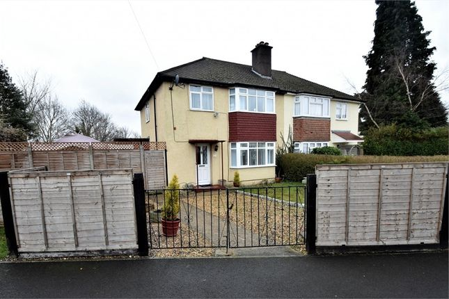 Thumbnail Semi-detached house for sale in Prince Charles Crescent, Farnborough, Hampshire