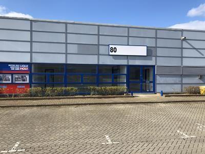 Thumbnail Warehouse to let in 80 Tanners Drive, Blakelands, Milton Keynes