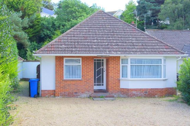 Thumbnail Bungalow to rent in Seacombe Road, Sandbanks, Poole