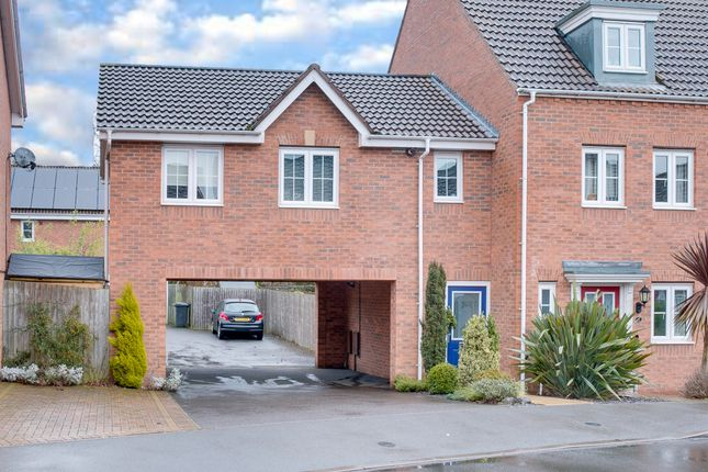 Thumbnail End terrace house for sale in Yeomans Close, Astwood Bank, Redditch