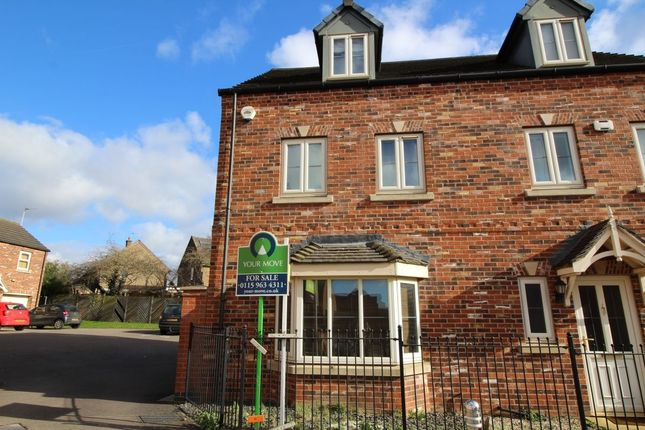 4 bed semi-detached house for sale in Levertons Place, Hucknall, Nottingham