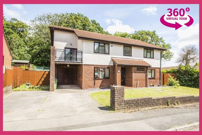 Thumbnail Detached house for sale in Glanrhyd, Coed Eva, Cwmbran