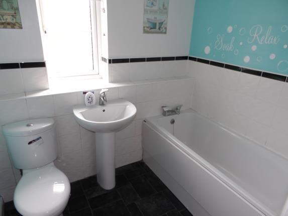 Bathroom of Cygnet Gardens, St Helens, Merseyside, Uk WA9