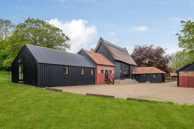 Thumbnail Barn conversion for sale in Mill Road, Wissett, Halesworth
