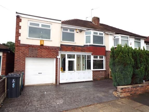 Thumbnail Semi-detached house for sale in Alexander Drive, Bury, Greater Manchester