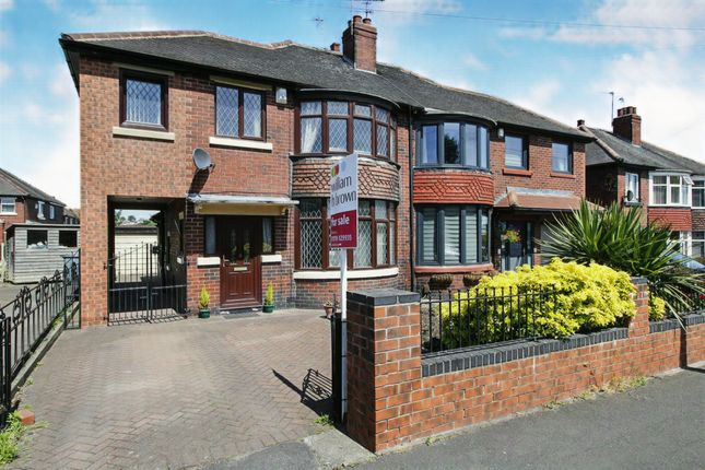 Thumbnail Semi-detached house for sale in Roundwood Grove, Rawmarsh, Rotherham