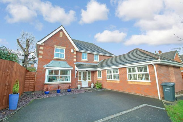 Thumbnail Detached house for sale in Beech Close, Hartshill, Nuneaton