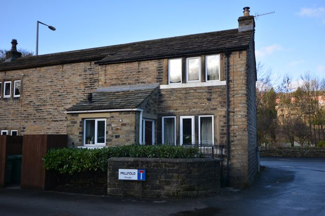 Thumbnail Semi-detached house for sale in Woodhead Road, Holmbridge, Holmfirth
