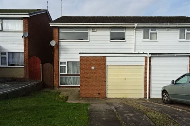 Thumbnail Semi-detached house to rent in John Mcguire Crescent, Ernesford Grange