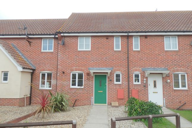 Thumbnail Terraced house to rent in Magpie Close, Dovercourt